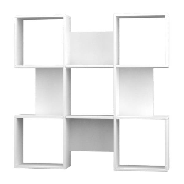 Biblioteczka Quat 120x120 cm White