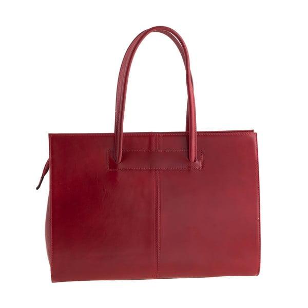 Skórzana torebka Ore Diece Olbia, czerwona