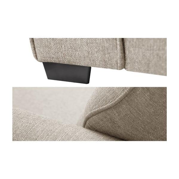 Kremowa sofa 3-osobowa Jalouse Maison Ivy
