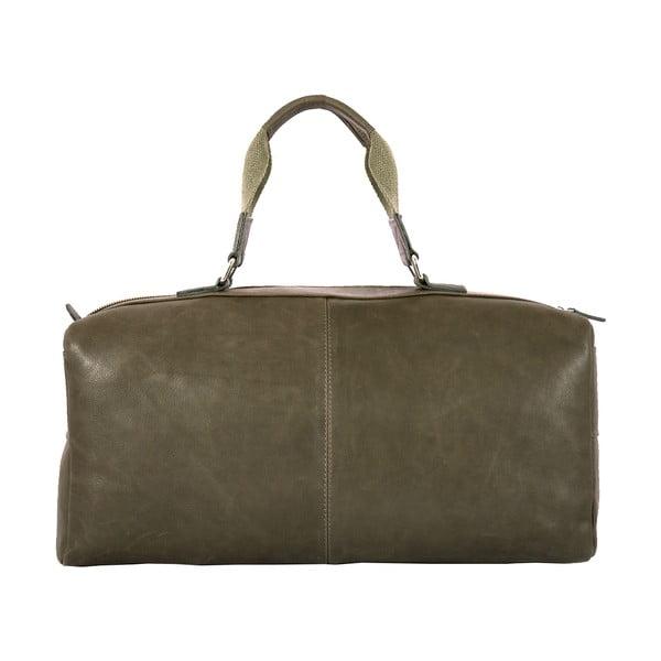 Męska torba podróżna Vintage Green Army