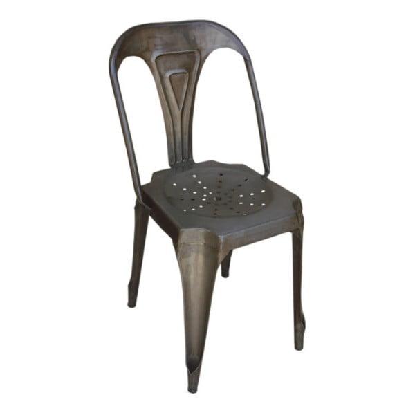 Krzesło metalowe Chaise Naturelle