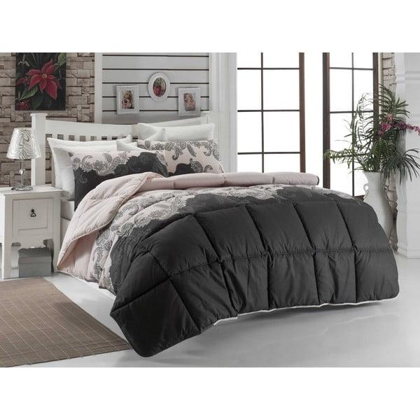 Narzuta pikowana na łóżko jednoosobowe Fran, 155x215 cm
