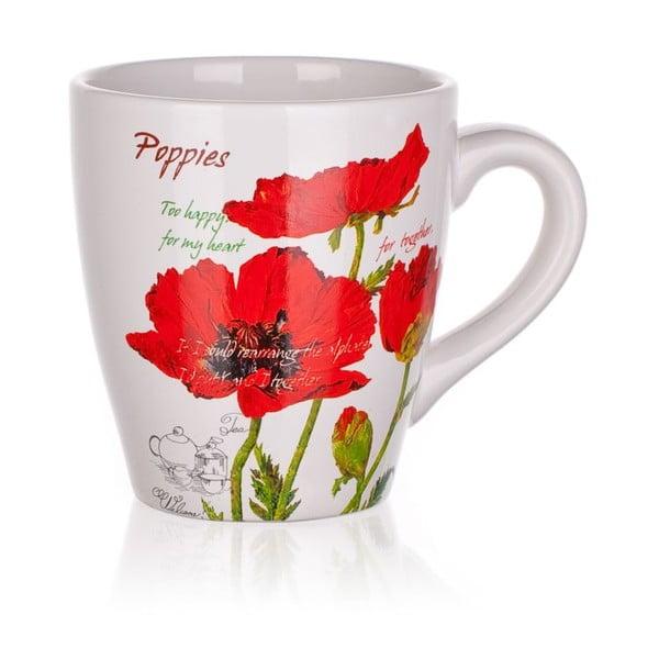 Kubek Red Poppies, 500 ml