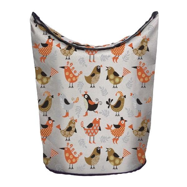 Kosz na bieliznę Orange Birds