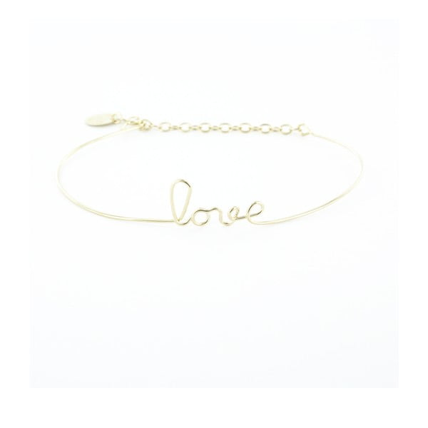 Bransoletka Love Gold