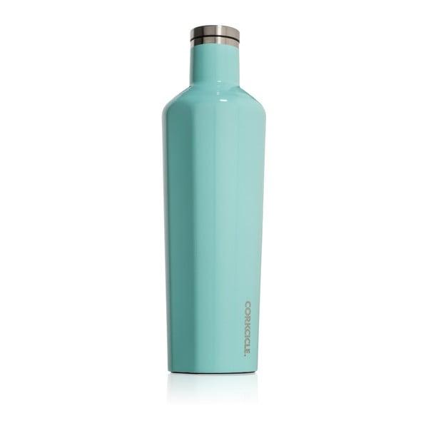 Turkusowa butelka termiczna Root7 Canteen, 740 ml