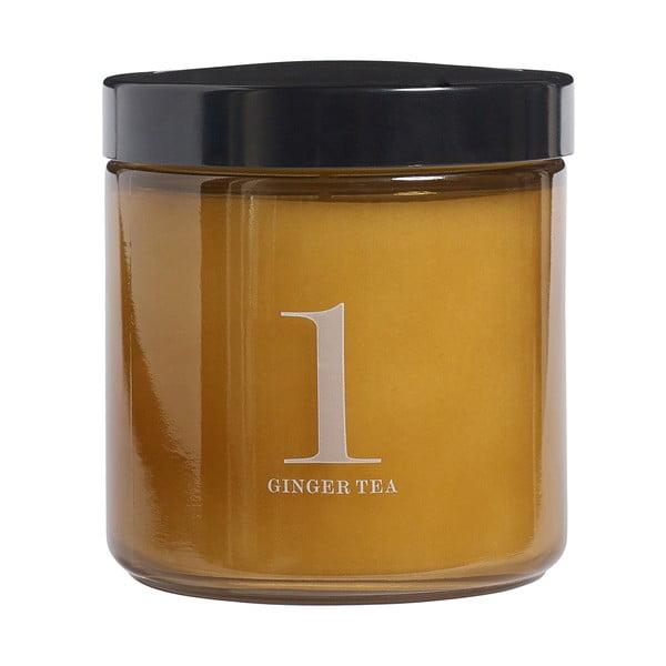 Świeczka zapachowa Relax, zapach naparu z imbiru
