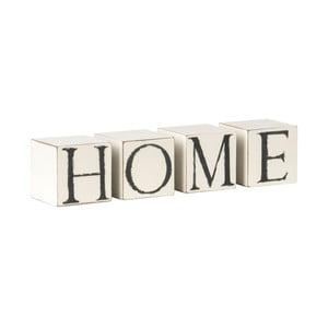 Dekoracyjne kostki z napisem Home