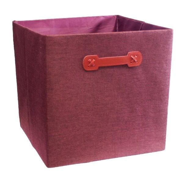 Pudełko Ordinett Cube Red, 32x32cm