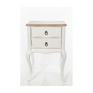 Szafka Mira Vintage White, 46x33x70 cm