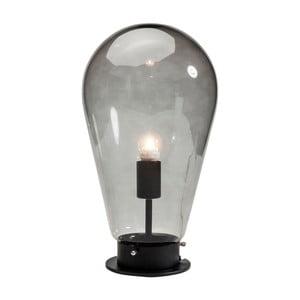 Czarna lampa stołowa Kare Design Bulb