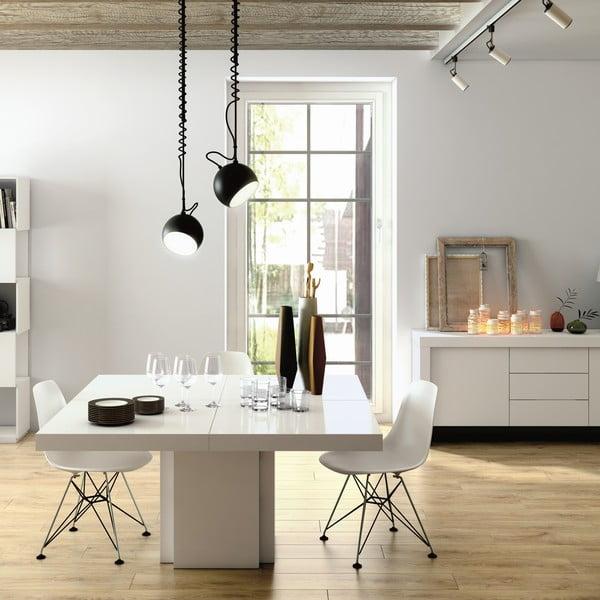 Biały stół do jadalni TemaHome Dusk, 150 cm