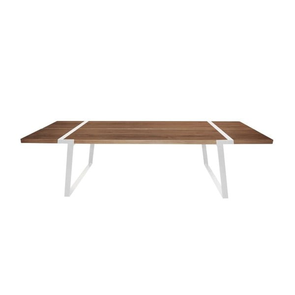 Stół jadalniany Gigant Nature/White, 290x100x74 cm