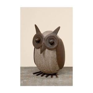 Dekoracja Owl Stone