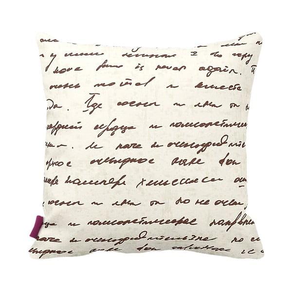 Poduszka Writing, 43x43 cm
