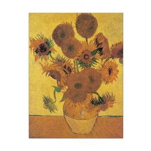 Obraz Vincent Van Gogh - Słoneczniki, 80x60 cm