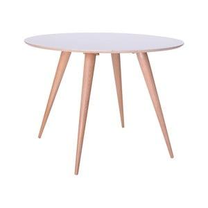 Biały stół do jadalni Ragaba Planet Round