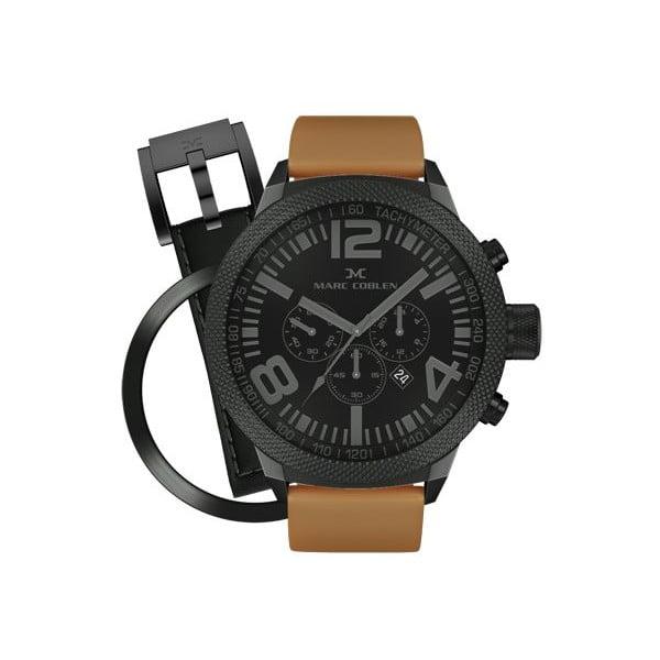 Zegarek męski Marc Coblen z dodatkowym paskiem i obręczą P46