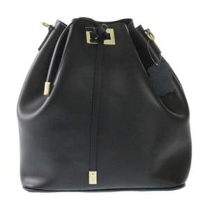 Czarna skórzana torba Erica