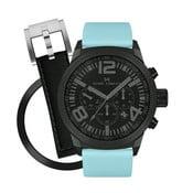 Zegarek damski Marc Coblen z dodatkowym paskiem i obręczą P106