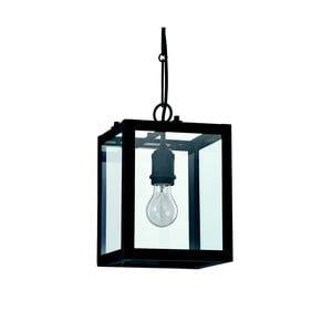Czarna lampa wisząca Evergreen Lights Retora