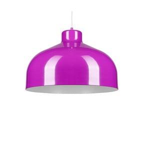 Fioletowa lampa wisząca Loft You B&B, 22 cm