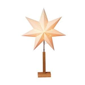 Świecąca gwiazda ze stojakiem Karo