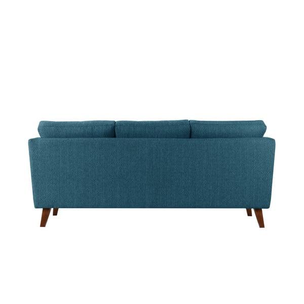 Sofa trzyosobowa Elisa, turkusowa