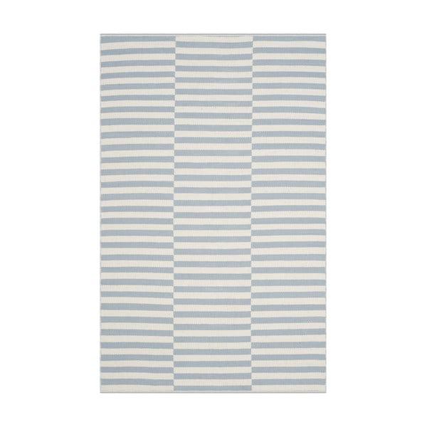Dywan bawełniany Mya Blue, 121x182 cm