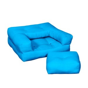 Fotel dziecięcy Karup Baby Cube Horizon Blue