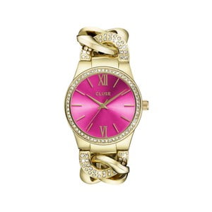Zegarek damski Brillante Gold/Cerise, 38 mm