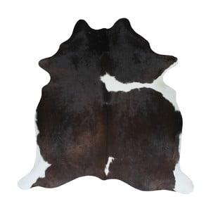 Czarno-brązowa skóra bydlęca, 195x175 cm