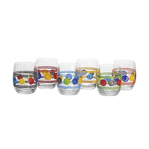 Zestaw 6 szklanek Summer Mix