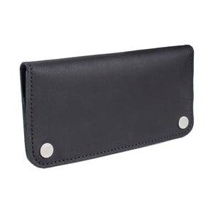 Czarny portfel skórzany Woox Triviala Ater