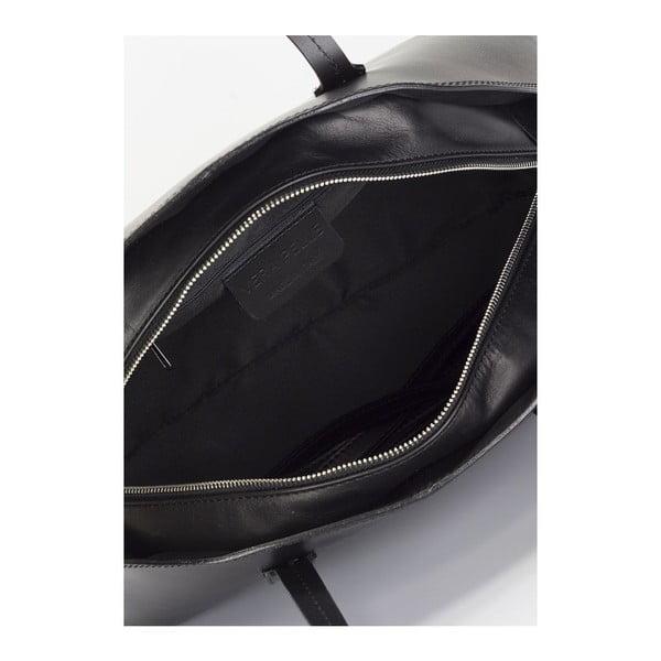 Czarna torebka skórzana Lisa Minardi Cast