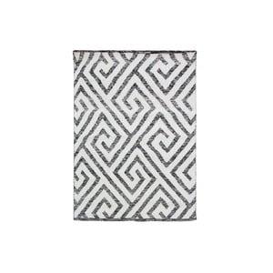 Ręcznie tkany dywan Kilim Design 69 Black/White, 160x230 cm