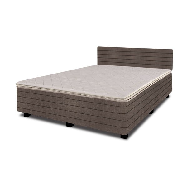 Łóżko z materacem New Star Mauve, 180x200 cm