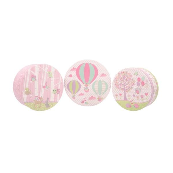 Zestaw 3 pudełek Baloons