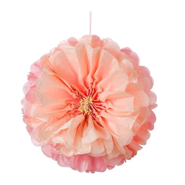 Papierowe dekoracje Flower Pom Pom, 3 szt.