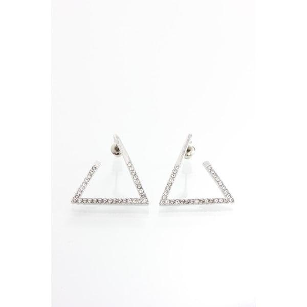 Kolczyki z kryształami Swarovski Elements Laura Bruni Triangle