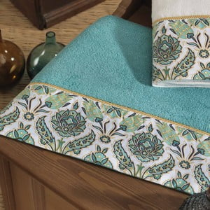 Ręcznik Ottoman Organic Turquoise, 50x90 cm