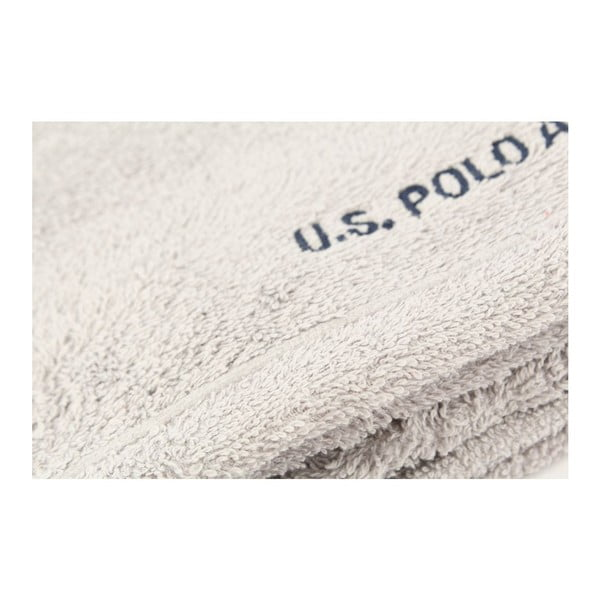 Ręcznik US Polo Hand Towel Grey, 50x90 cm