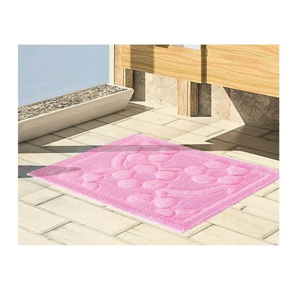 Mata łazienkowa Papatya Pink, 50x60 cm