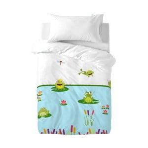 Komplet pościeli dziecięcej Mr. Fox Happy Frogs, 100x120 cm