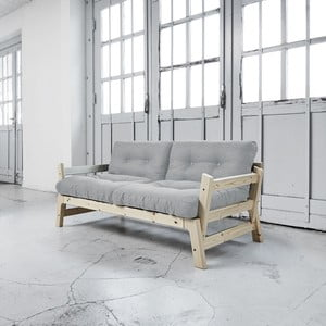 Sofa rozkładana Karup Step Natural/Light Grey