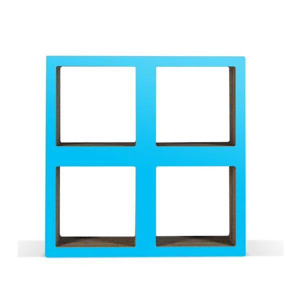 Kartonowa biblioteczka Bit Square Blue