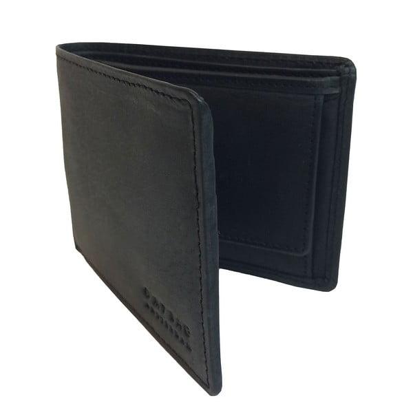 Skórzany portfel Tobi's, czarny