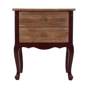 Stolik nocny z drewna jodłowego VICAL HOME Cavan