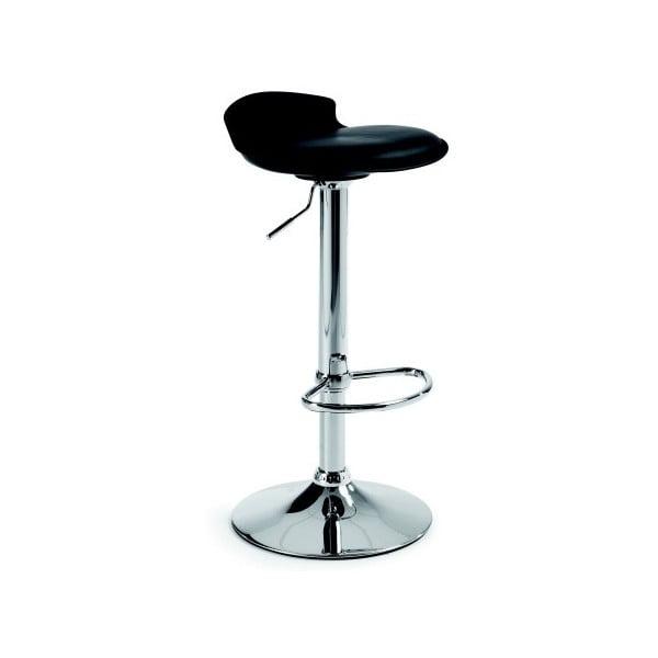 Krzesło barowe Amari, czarne