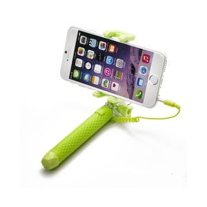 Selfie stick CELLY Mini selfie, zielony